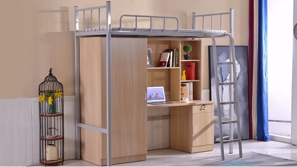 宿舍生活缺不了公寓床