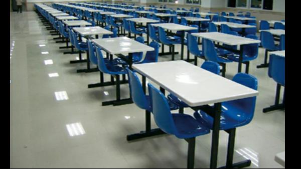 中国人民武装警察部队,江苏省总队训练基地食堂餐桌椅整改
