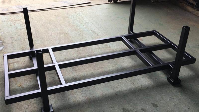 厂家定制托盘架仓储堆垛插管式堆高重型仓储货物料布匹巧固架