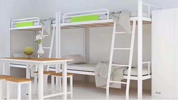 学生上下铺铁床首选光彩家具