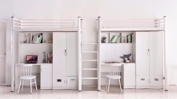 面对做好的宿舍家具,如何评判学校公寓床的质量?