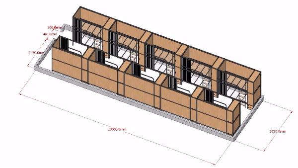 定制学生宿舍公寓床的流程