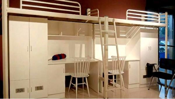 大学生宿舍床的材质多种多样