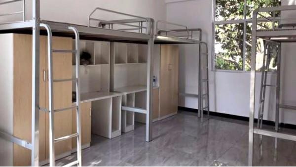 烤漆工艺处理过的公寓床