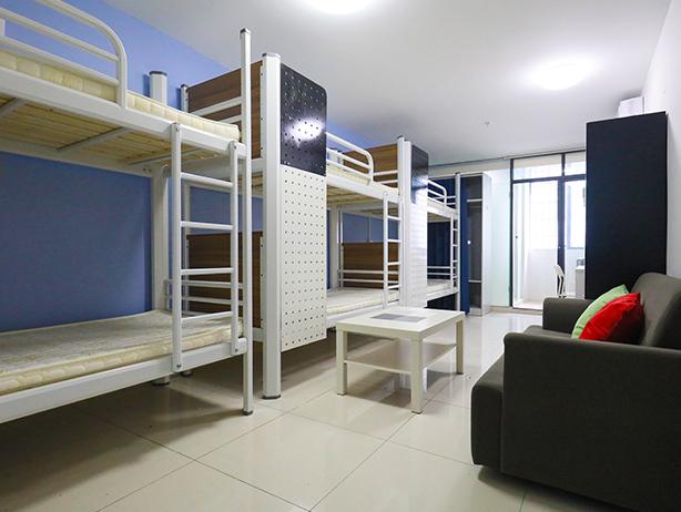宿舍钢架床