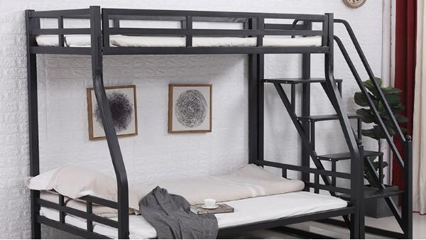 厂家批发家用宿舍高低上下成人子母床铁制成人卧室儿童铁艺子母床