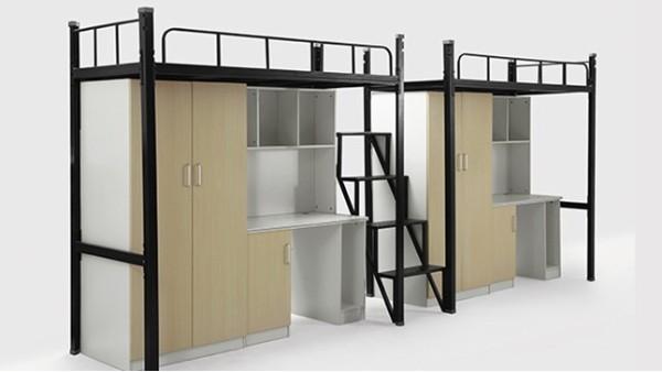 高校大学宿舍公寓床使用上床下桌的特点?
