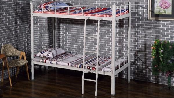 便宜的员工宿舍高低铁架床,请你不要选