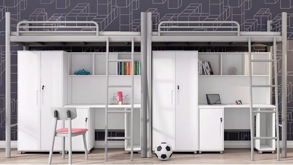 学生宿舍床尺寸最常见的4种(案例多图)