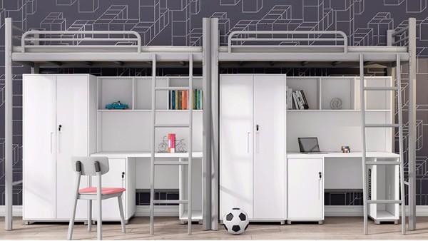 公寓床是学校宿舍不可缺少的家具