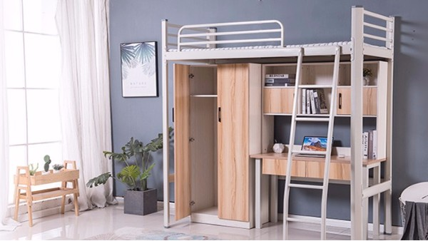 学生公寓床产品的选购要兼顾实用、安全、益智