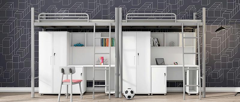 大学生公寓组合床