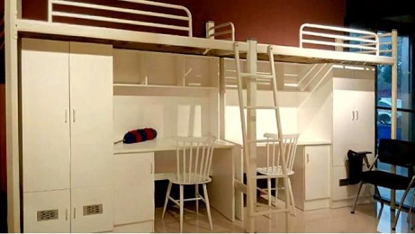 公寓床的优势让学生非常喜欢