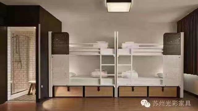 开学啦, 新宿舍有这种公寓床,会不会很开心