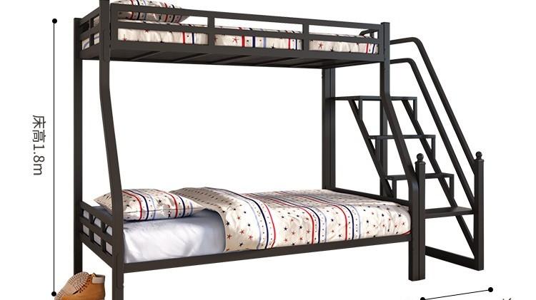 双床铁架床子母车,小户型双层床