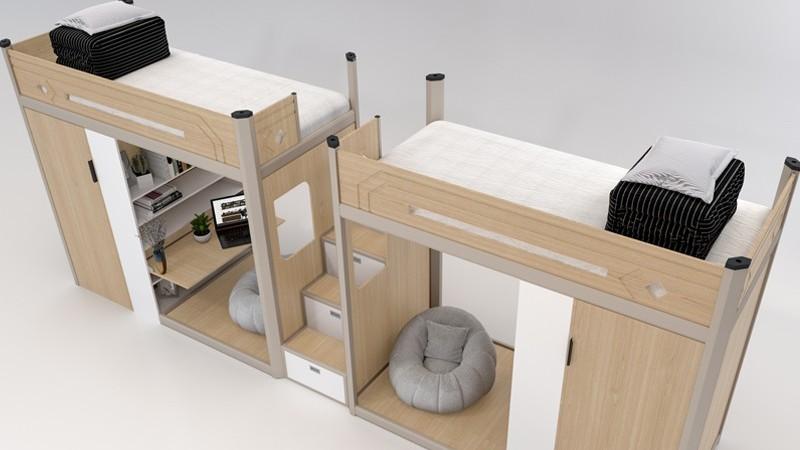 学生宿舍公寓床员工公寓床