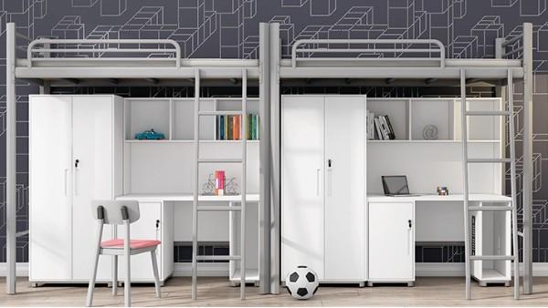 光彩家具加注重自主设计,大批量生产东莞公寓铁床