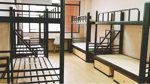 宿舍家具里钢制公寓床最耐用最划算