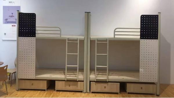 宿舍用的上下铺铁床多少钱?不要这么问