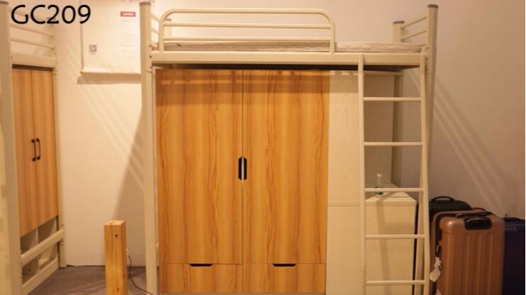 公寓家具组合定制公寓床上床下桌公寓床环保柜子组合出租苏州厂家