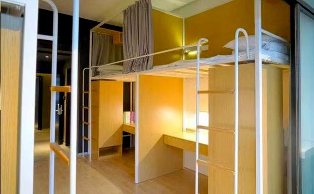 大学公寓铁架床