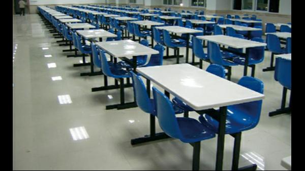 食堂餐桌椅整改项目顺利实施,江苏省总队训练基地