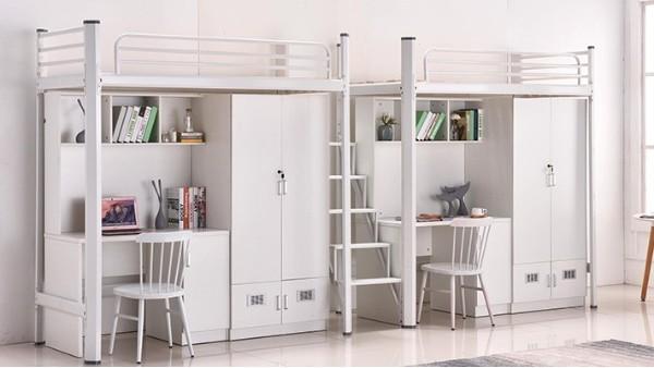 宿舍家具,多功能公寓床可以让你更好的利用卧室空间