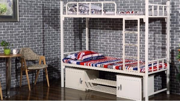 采购上下铺铁床多少钱一套?