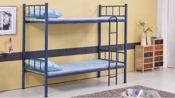 一般学生双层床材质以及工序