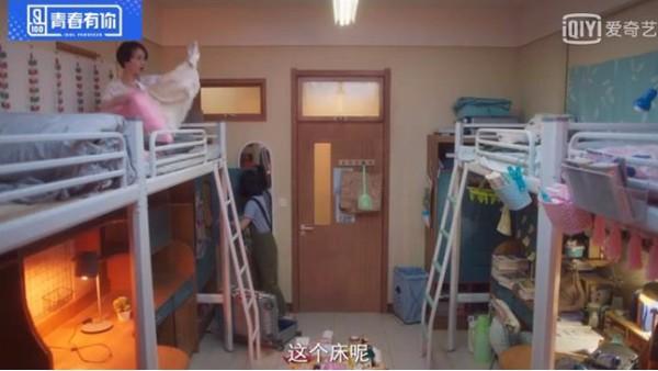 不同材料做出的学生公寓床差别很大