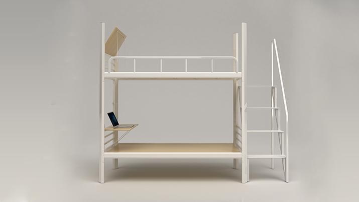 上下铺铁床双层高低床员工宿舍床大学生公寓床成人铁艺铁架床