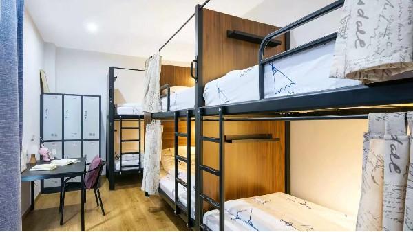 夏季光彩家具公寓床让学生睡得更舒心