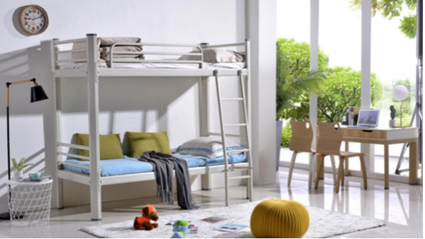 学生公寓床产品要有实用、安全、益智性