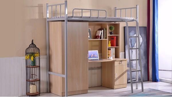 大学公寓床跟新速度快,主流的造型是啥样
