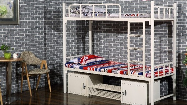 上下铺铁床厂家光彩家具