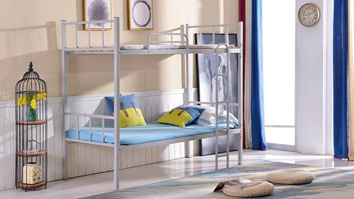 部队上下床铁员工学生宿舍高低铺铁架子床双层铁床上下铺铁床厂家