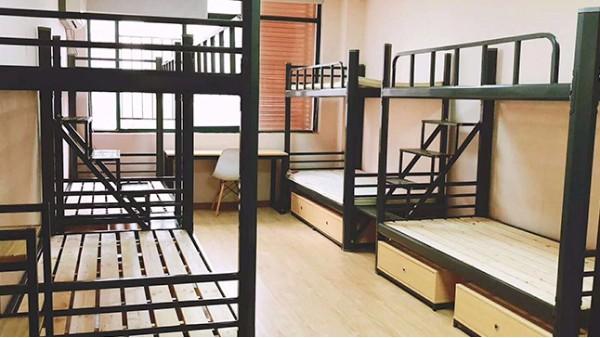 学生上下铺公寓床厂家无锡有吗?