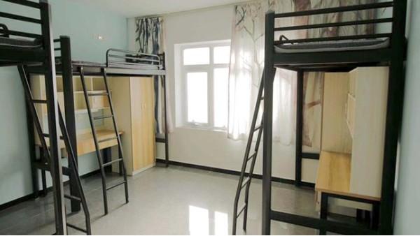 光彩家具铁架床 公寓床厂家学校上床下桌公寓床组合