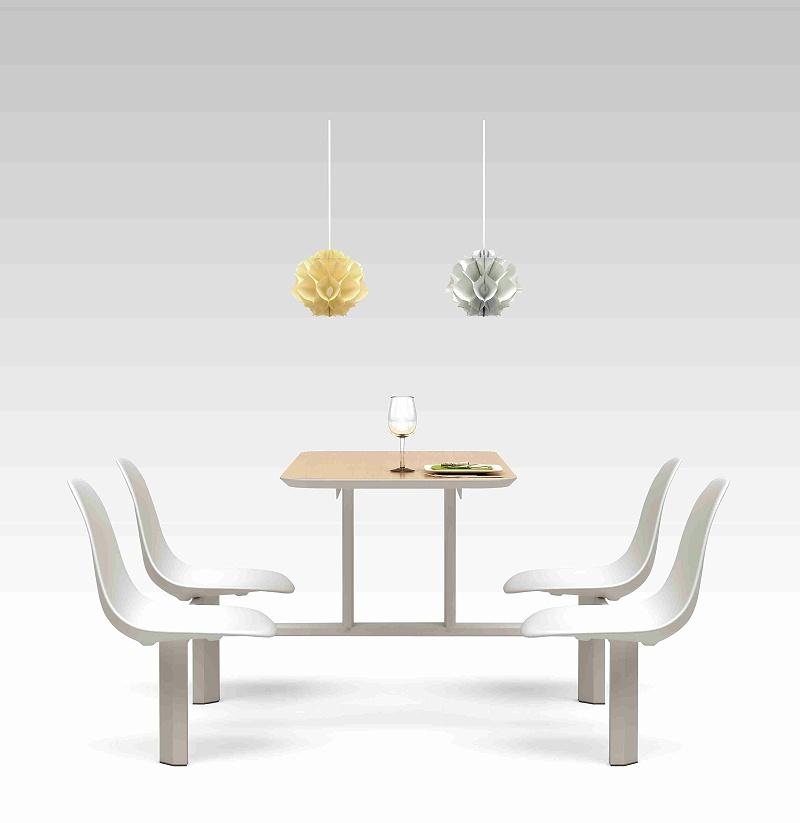 职工食堂餐桌椅