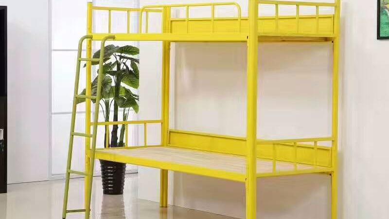宿舍床品采购,钢制公寓床最耐用最划算