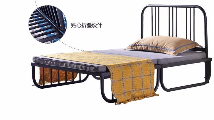 简易沙发床简单简约可折叠沙发床单人床单层床铁艺床两用