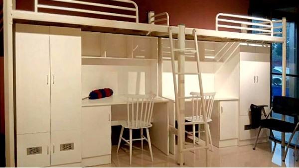 学生宿舍公寓床的结构特点