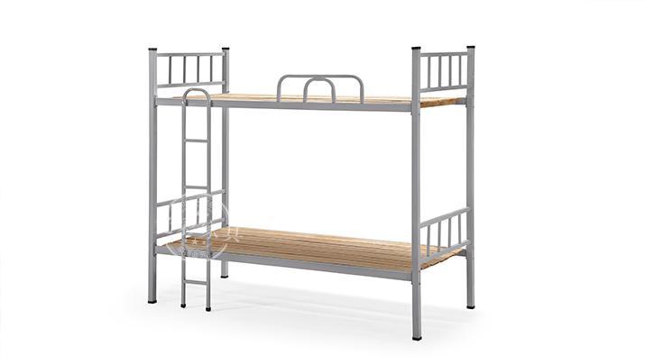 上下铺铁床双层床高低床铁艺床员工宿舍床大学生公寓床成人铁架床