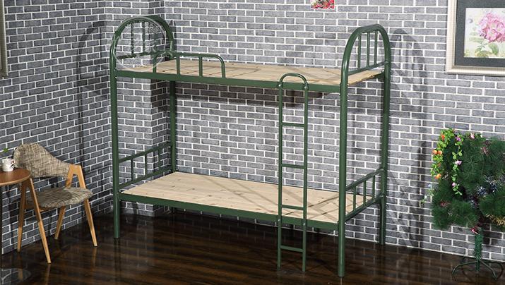 厂家高低双人床上下双层铁艺床员工学生铁架宿舍上下铺批发