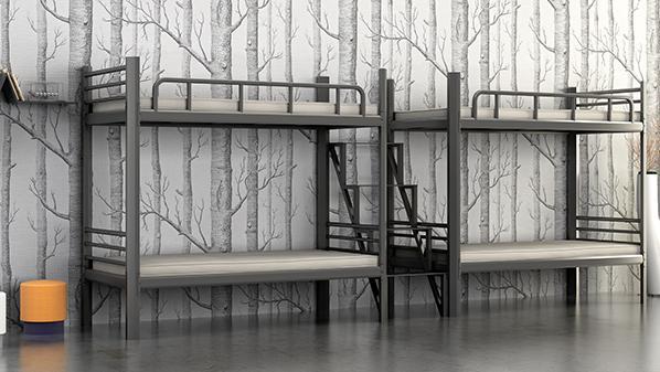 上下双层床批发,溢彩家具最简单大方的设计