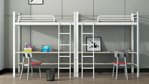 员工双层床·铁床厂家·溢彩家具宿舍家具