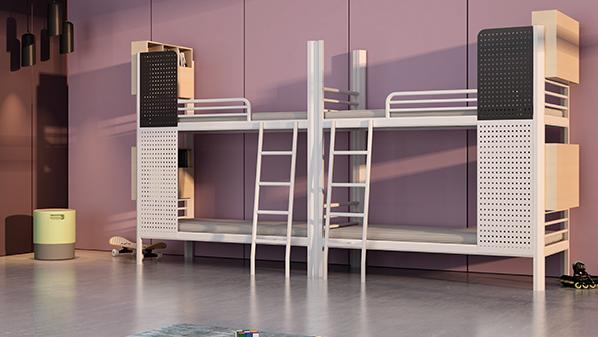 员工宿舍铁架床,不是低端廉价的代名词!