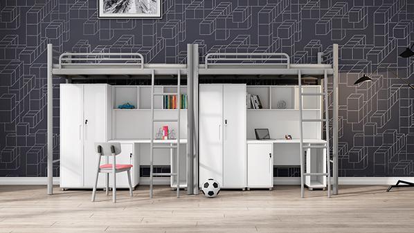 为什么各大院校会选择溢彩家具公寓床