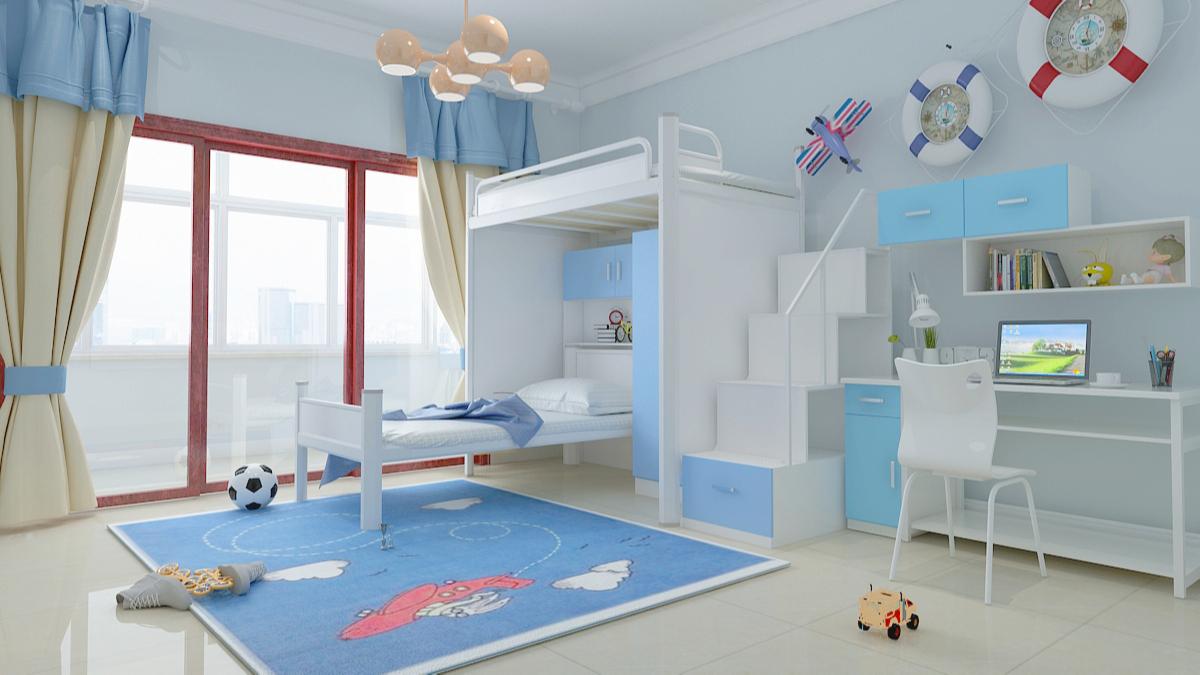 儿童公寓床